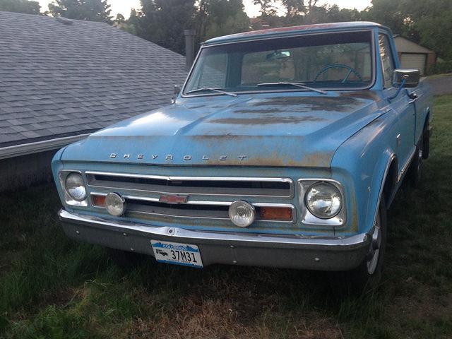 1967 Chevrolet C20 Custom Sport Truck