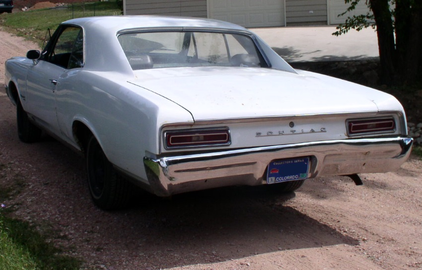 1967 Pontiac Tempest Custom Rear View