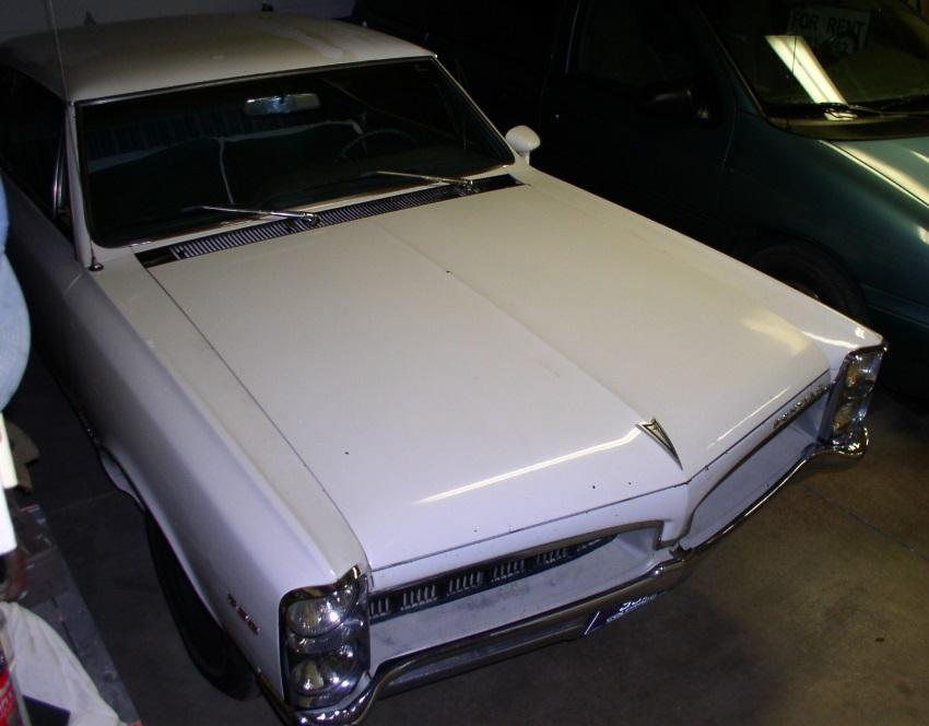 1967 Pontiac Tempest Custom top view
